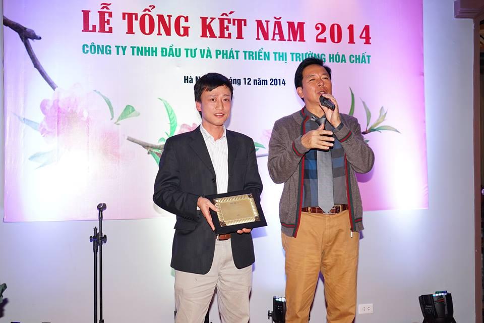 Lễ tổng kết cuối năm 2014