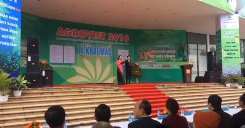 Triển lãm nông nghiệp AgroViet 2016