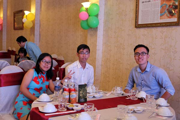 Tiệc cuối năm 2016 - Văn phòng HCM