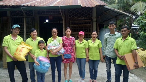 MDI Chi nhánh Hồ Chí Minh thăm hỏi các gia đình có hoàn cảnh khó khăn xã Hội Cư (Cái Bè) và xã Hiệp Đức (Cai Lậy), tỉnh Tiền Giang