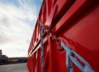 Dây xích Tycan sử dụng vật liệu Dyneema sẽ thay thế dây xích sắt trong chằng buộc hàng hóa.