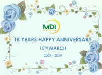 18 Years Happy Anniversary MDI Chemicals
