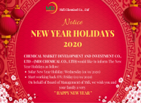 Notice New Year Holidays 2020