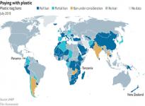 Ngày càng có nhiều quốc gia cấm túi nhựa